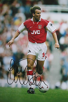 Paul Merson Signed 12X8 Arsenal Photo (3)