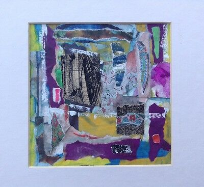 "SEAN HALL b1961 Original Mixed Media ""Tapestry"" Curwen Gallery"