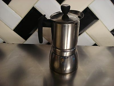 LOVELY Stainless  6 Cup Espresso COFFEE Maker