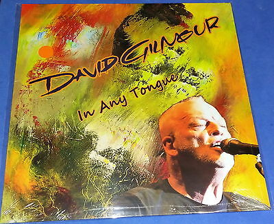 DAVID GILMOUR 2016 In Any Tongue (LP) RED VINYL SEALED