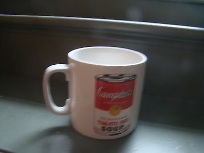 Andy Warhol Large 16 Ounce Soup / Coffee Mug Campbell's Tomato Rice Soup