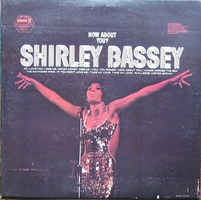 Shirley Bassey, How about you?, rare Pickwick LP'