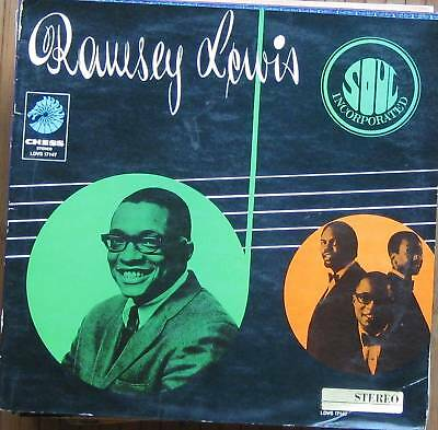 Ramsey Lewis Trio, Soul incorporated, rare Chess LP
