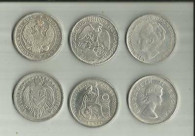 6 World Crown Coins Pack 6 Copys
