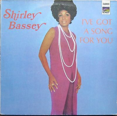 Shirley Bassey, I've got a song for you, rare LP