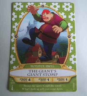 Sorcerer of the Magic Kingdom Card #19 The Giant's Giant Stomp +2 - New