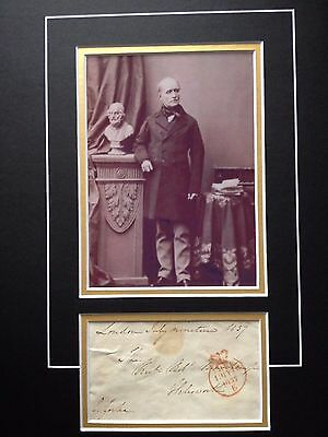 Sir Charles Yorke - Army Officer At Waterloo - Excellent Signed B/w Display