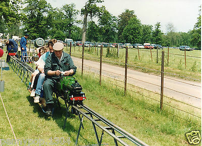 Miniature Ride-On Working Steam Train * Waldershare Park Vintage 1991