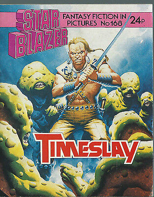Timeslay,no.168,starblazer Fantasy Fiction In Pictures,comic