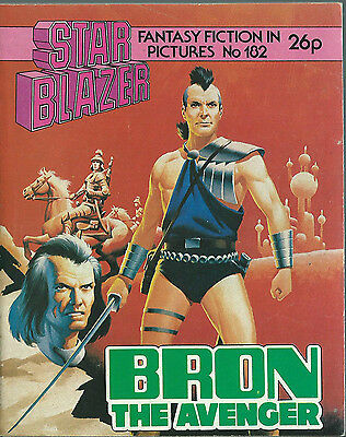Bron The Avenger,no.182,starblazer Fantasy Fiction In Pictures,comic