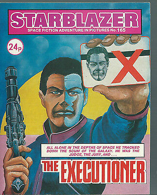 The Executioner,no.165,starblazer Space Fiction Adventure In Pictures,comic