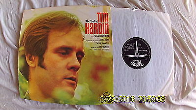 TIM HARDIN Best Of LP VINYL EX RECORD UK Verve 1969  Matrix A1/B1 FOLK ROCK