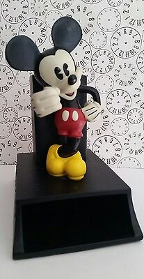 """Disney's  Classic Mickey Mouse Plastic Notepad & Pen Holder 6.5 Tall x 5"""" Long"""