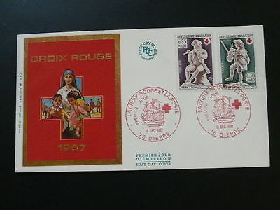 Red Cross 1967 FDC 57185