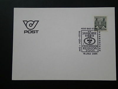 scout Jamboree 1951-1991 postmark on cover Bad Ischl Austria 65952
