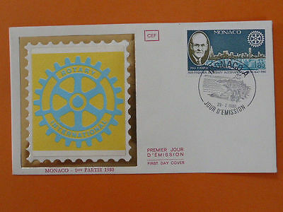 rotary club FDC Monaco *more ROTARY in store* 38488