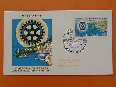 rotary club FDC Monaco *more in my store* 38386