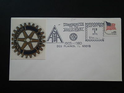 Rotary International cover 1980 Des Plaines United States 66298