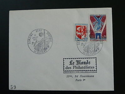 space shuttle concorde 1970 postmark on cover