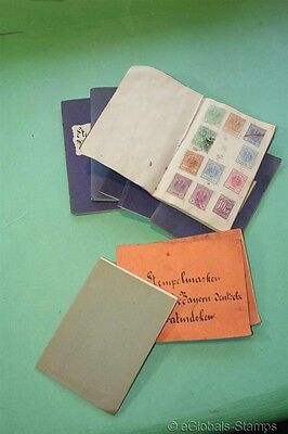 1700 Old FISCAL REVENUES Telegraph Back of Book Stamp Collection RARE ESTATE