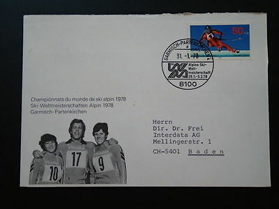ski skiing world cup 1978 cover Germany 67076