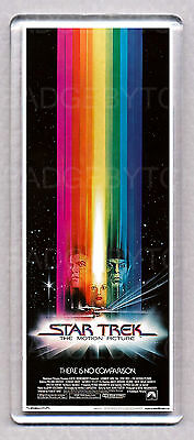 STAR TREK THE MOTION PICTURE movie poster 'WIDE' FRIDGE MAGNET -70's SF CLASSIC!