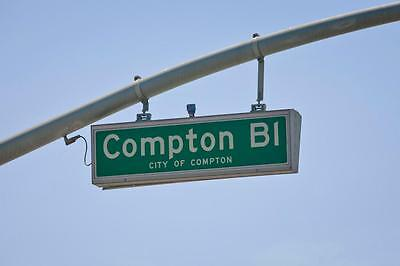 Straight Outta Compton Movie Prop Street Sign Hip Hop California Nwa Dr Dre
