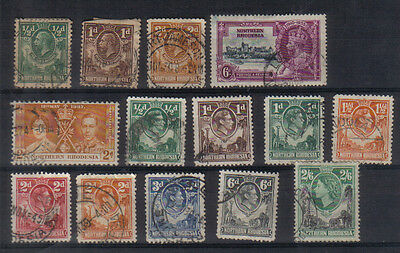 Northern Rhodesia Small used collection