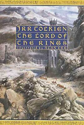 The Lord of the Rings by J.R.R. Tolkien (English) Hardcover Book Free Shipping!