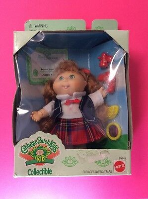 "Cabbage Patch Kids Collectible Mini 5"" Doll Mattel 1995 Suzette Tara"