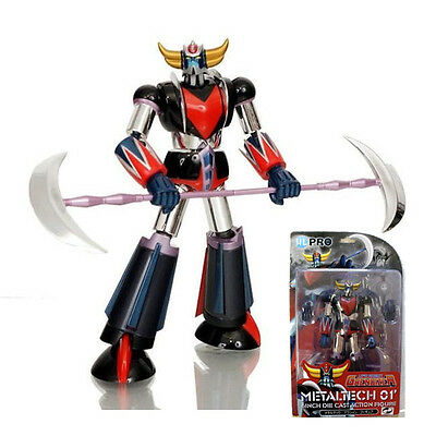 GRENDIZER METALTECH 01 GOLDRAKE CHROME 16CM HIGH DREAM HL-Pro Metallo L42