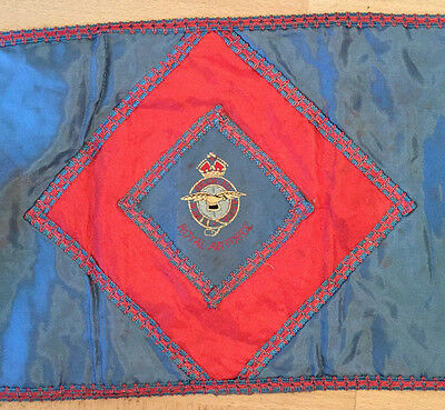Ww2 Raf Padre Alter/field Communion Drape With Raf Crest Original.