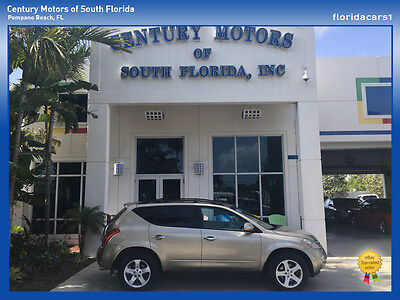 2005 Nissan Murano  FLORIDA SUV PERSONAL 3 OWNERS RUST FREE LEATHER LOADED 61828 MILES FWD 3.5L V6