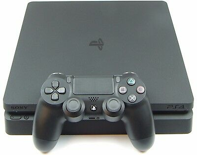 Sony Playstation 4 PS4 Slim CUH-2016A 500GB Home Gaming Console Black PAL