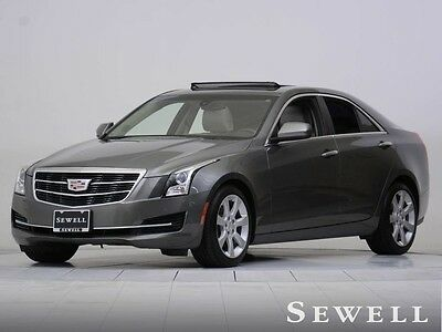 2016 Cadillac ATS  1-OWNER WARRANTY CUE BOSE SUNROOF HEATED SEATS CALL GREG 214-353-2806