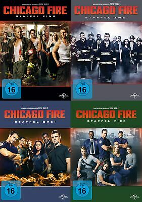 Chicago Fire - Season/Staffel 1+2+3+4 # 24-DVD-SET-NEU