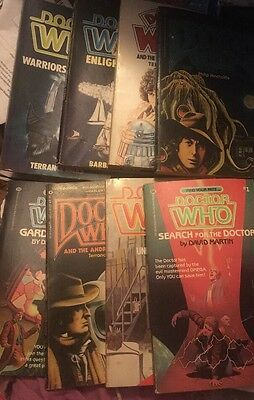 Doctor Who Sci Fi Novel And Find Your Fate Large Paperback Book Lot