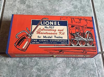 Lionel #927 Lubricating And Maintenance Kit Very Nice