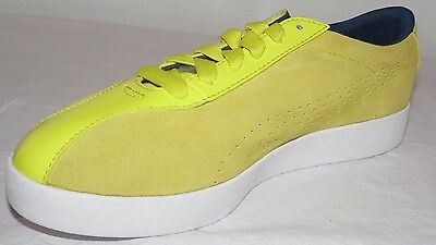 "NEW! PUMA Women's Munster Fashion ""RETRO"" Look Sneaker, Leather, Yellow, SZ 10 M"
