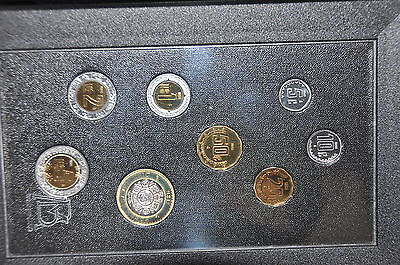 Mexico 1995 Proof Set Only Place to get 5 Peso 1995