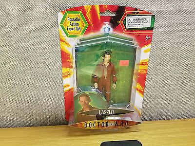 Character Toys Doctor Who Laszlo action figure, Brand New!