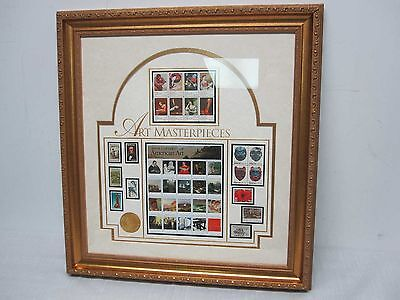 Usps United States Post Office Framed Four Centuries Of American Art Special Ed.