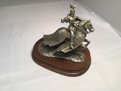 Chilmark #114 1980 Pewter Sculpture Figurine of the King Of France Brian Rodden
