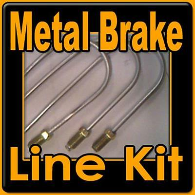 Complete metal brake line kit for GM 1973-1989 RWD.-replace rusted lines!!!!!