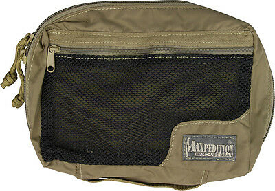 "Maxpedition MX329K Individual First Aid Pouch Khaki 8"" X 5"" X 2.5 Lightweight"