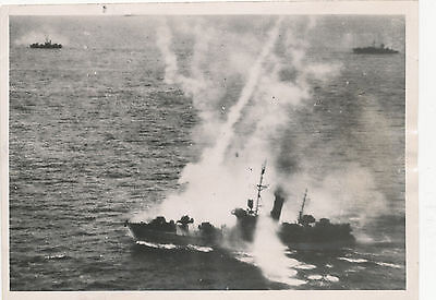 WWII 1944 Austalian Beaufighters attack Japanese Convoy photo