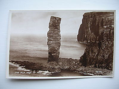 Old Man of Hoy, Orkney.   Near Kirkwall, Stromness etc. (Valentines)