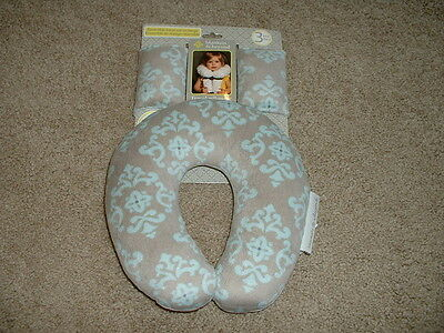 NEW Baby Boys Blankets and & Beyond Carseat Travel Pillow Seatbelt Covers NWT