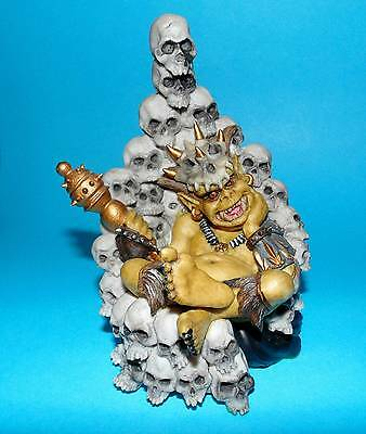 ENCHANTICA  Figurine ornament 'Hell bender. goblin king' #2022 1st Quality