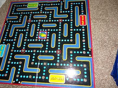 Vintage MB Pac-Man Game Board From 1982